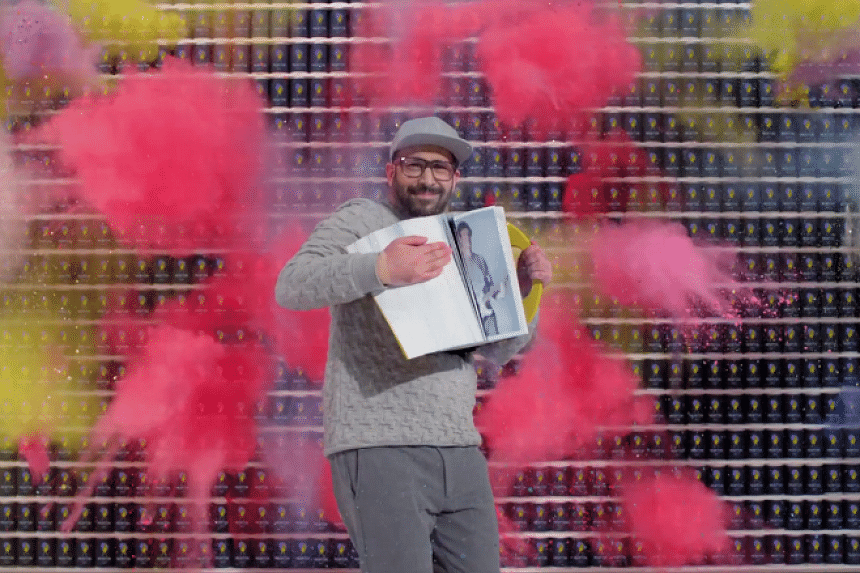 OK Go's new video for The One Moment features an explosion of colours.