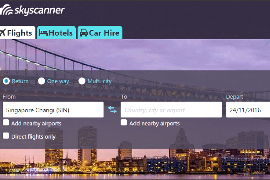 China's largest online travel agency Ctrip will buy British flight search app Skyscanner for US$1.74 billion (S$2.5 billion).