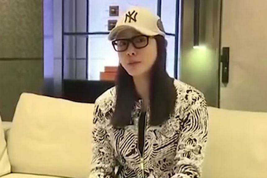 """Model and actress Zhao Yaqi apologises for her """"careless behaviour"""" on Nov 22, 2016."""