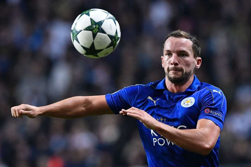 Leicester City's English midfielder Danny Drinkwater