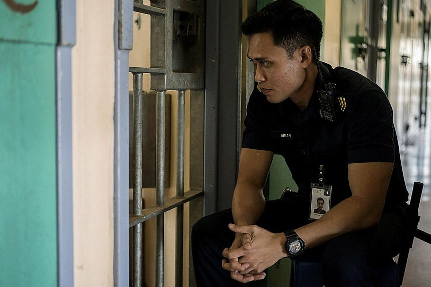 Local actor Firdaus Rahman plays a young prisons officer in Boo Junfeng's Apprentice.