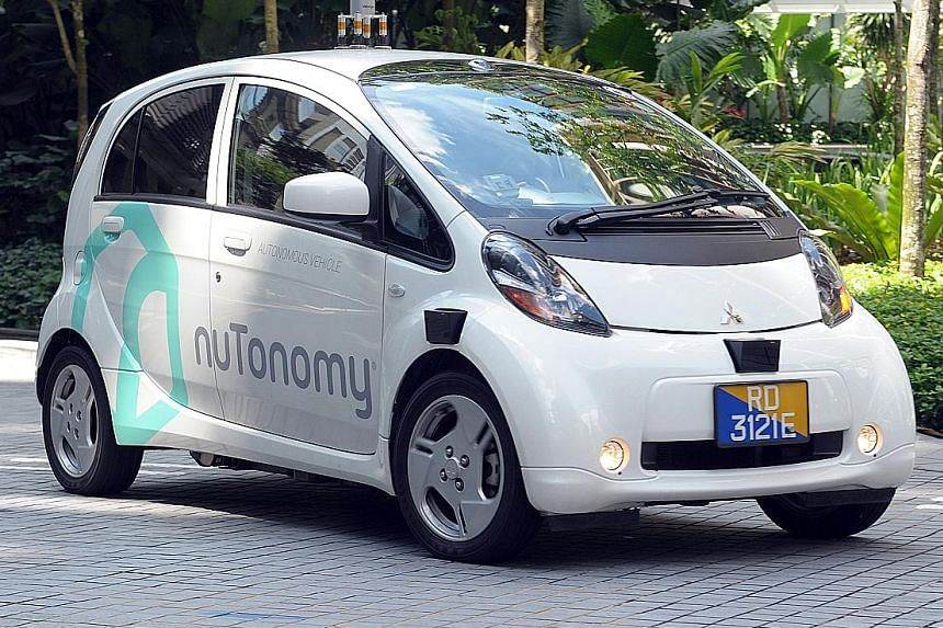 nuTonomy has resumed trials of its autonomous vehicles in one-north.