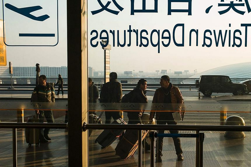 Tourists at Beijing Capital International Airport. Ctrip's move to acquire British travel search site Skyscanner could help broaden its footprint abroad while enabling it to offer Chinese users a wider array of options.