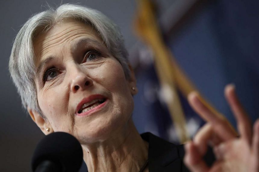 Green Party presidential nominee Jill Stein during a press conference at the National Press Club in Washington, DC, on Aug 23, 2016.