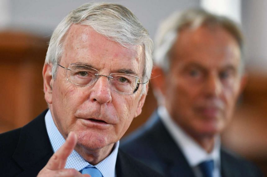 """Former British prime minister John Major believes there is a """"credible case"""" for a second referendum on Brexit, a newspaper reported on Nov 25, 2016, after his successor Tony Blair suggested the process could be stopped."""