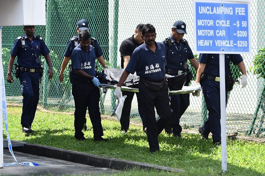 A 54-year-old woman was found dead in a drain at Tanah Merah Ferry Terminal on Friday (Nov 25) in a case of suspected murder.