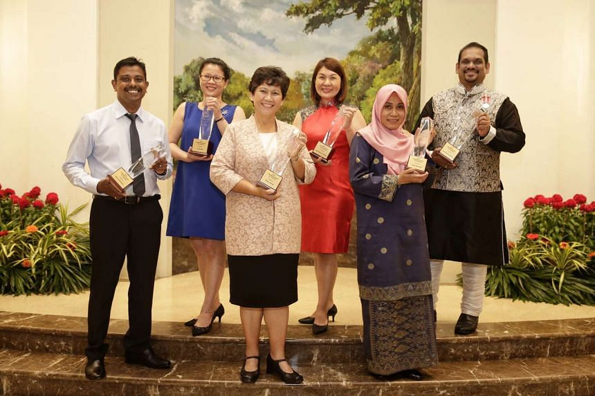 Recipients of 2016's President's Award for Teachers.