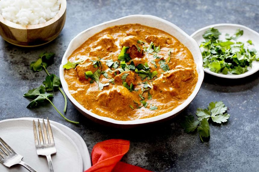 Turkey tikka marsala borrows flavours from the Anglo-Indian favourite.