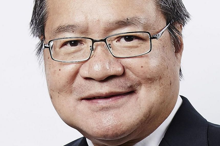 Top corporate lawyer Lucien Wong