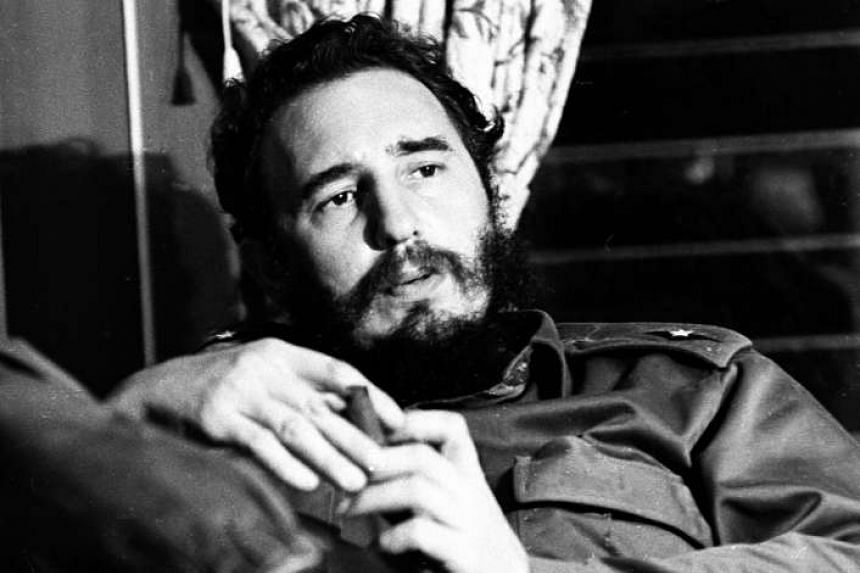 Fidel Castro during an interview in one of his homes in Havana in July, 1964.