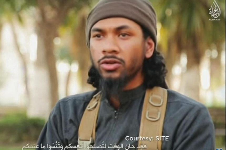 Prakash, seen here in an ISIS propaganda video, rose through the ranks to become a leading recruiter for the terror group.