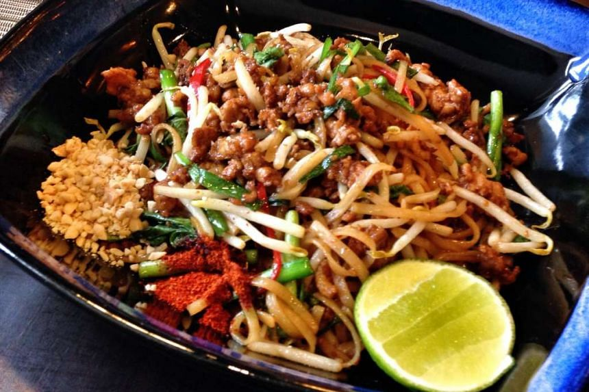 Pad Thai kung sot from Sawadee Thai.