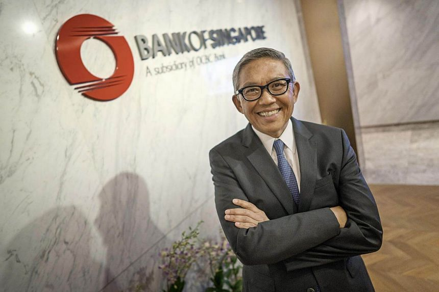 Mr Bahren Shaari, chief executive officer of Bank of Singapore.