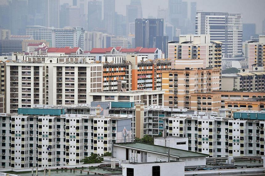 HDB flat owners will pay lower property taxes next year.