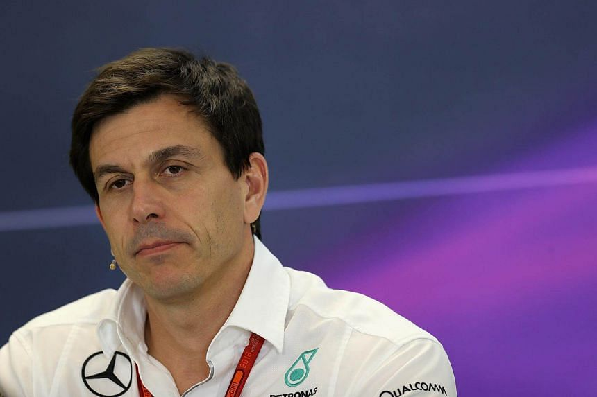 Mercedes GP Executive Director Toto Wolff in the Team Principals Press Conference during practice for the United States Formula One Grand Prix at Circuit of The Americas on Oct 21, 2016, in Austin, United States.