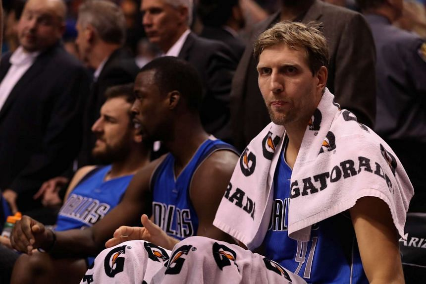 The Dallas Mavericks will slowly ease Dirk Nowitzki back into the fray as the veteran German star recovers from a lingering Achilles problem.