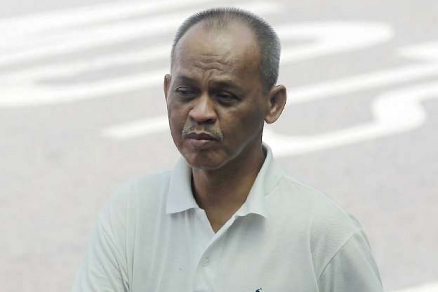 Immigration and Checkpoints Authority officer Sa'dollah Shukor molested his female colleague. He was jailed for 14 months on Tuesday (Nov 29).