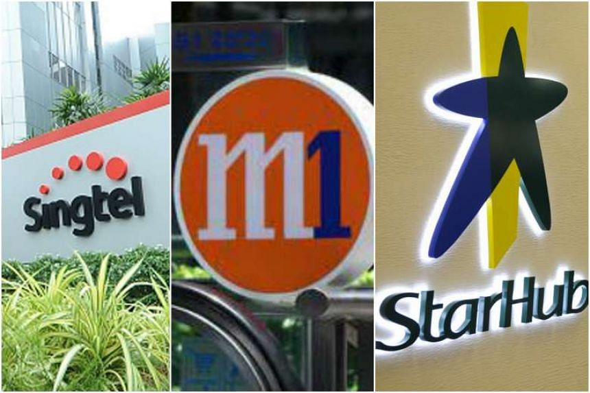 Singtel, M1 and Starhub hope to launch the authentication service as early as the second half of next year.