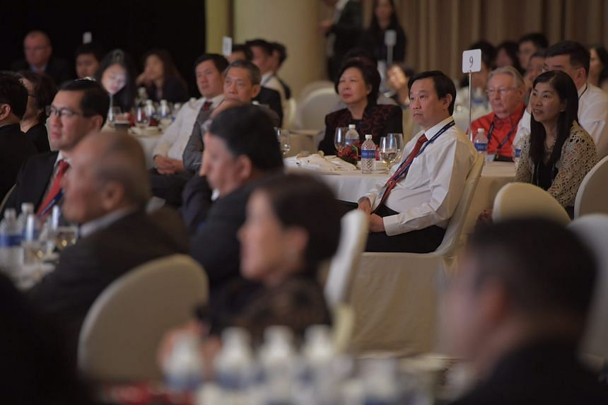 Participants listening at the forum.