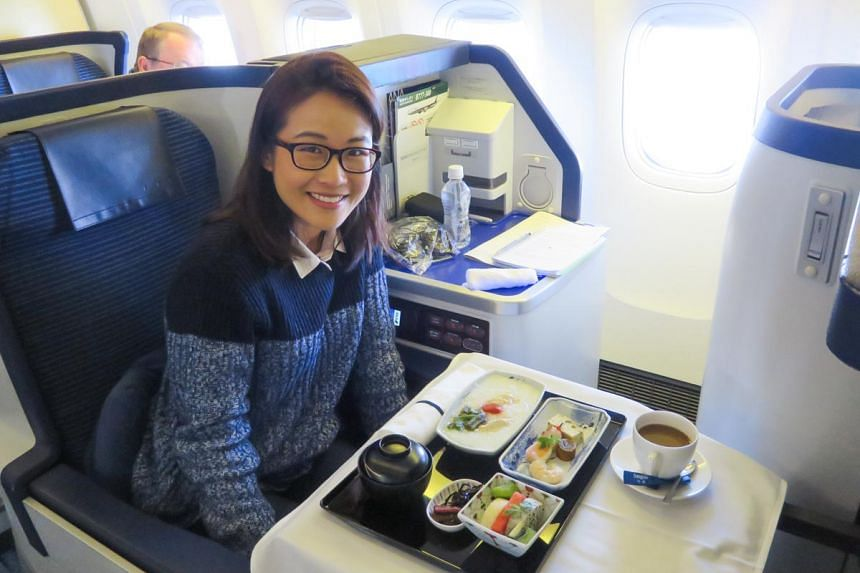 On Board Ana Business Class Singapore To New York Via Tokyo Travel News Top Stories The Straits Times