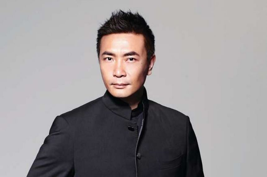 Actor Tay Ping Hui sliced off the tip of his finger during a cooking show.