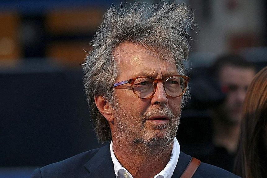 Eric Clapton will hold four shows in the United States in March next year.