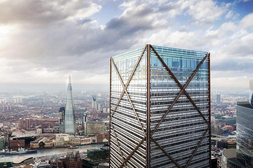 Singapore-listed Perennial Real Estate entered a call option agreement to acquire a 20 per cent stake in Aviva Tower. The 28-storey office tower at 1 Undershaft has received approval to be redeveloped into the tallest building in the City of London,