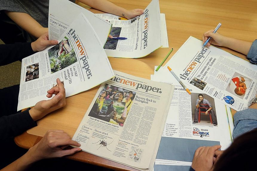 The revamped The New Paper will provide more of the news that matters, for free. It will create content catered to professionals, managers, executives and businessmen.