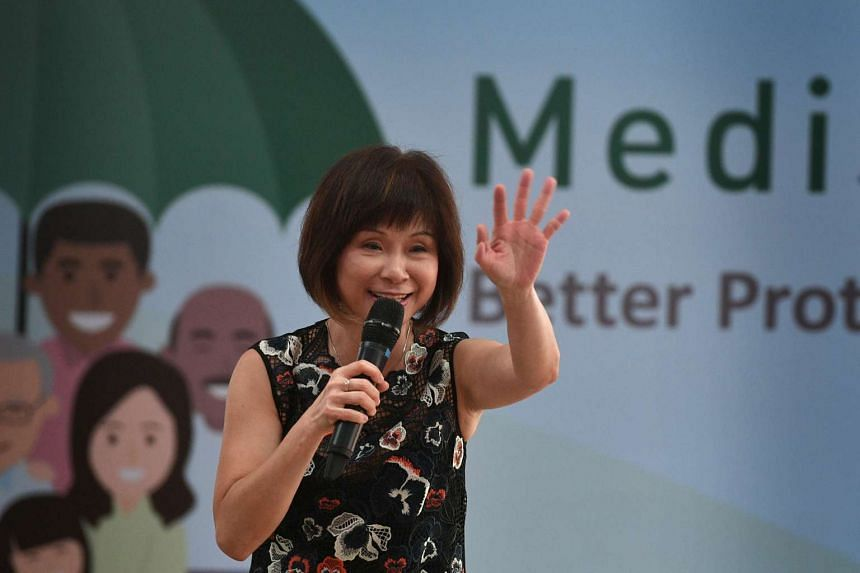 """Senior Minister of State for Health Amy Khor said that """"it is important for us to unlock the promise of longevity by making full use of the potential of science and technology""""."""