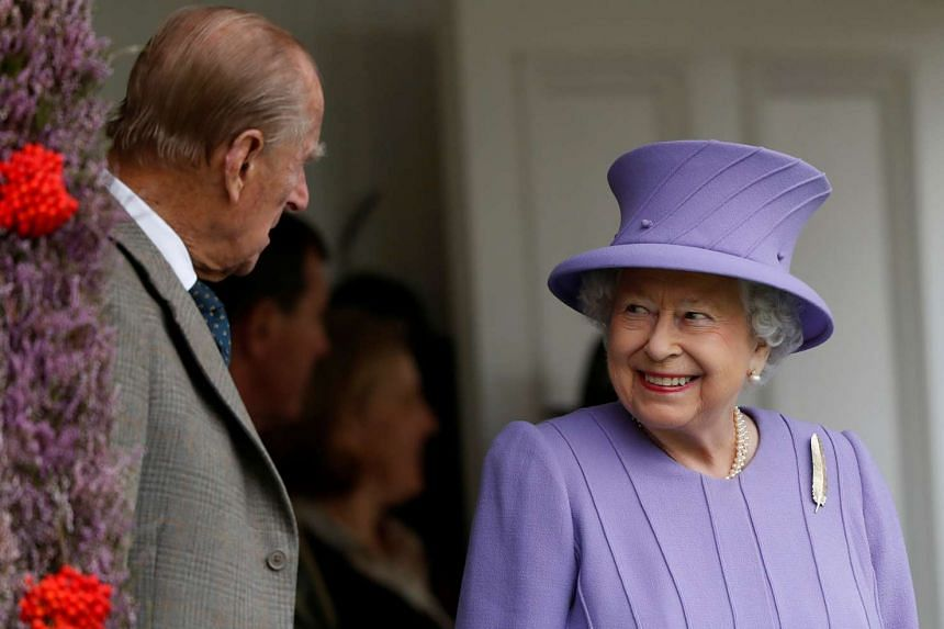 Britain's Queen Elizabeth and Prince Philip attend the annual Braemar Highland Gathering in Braemar, Scotland, Sept 3, 2016.
