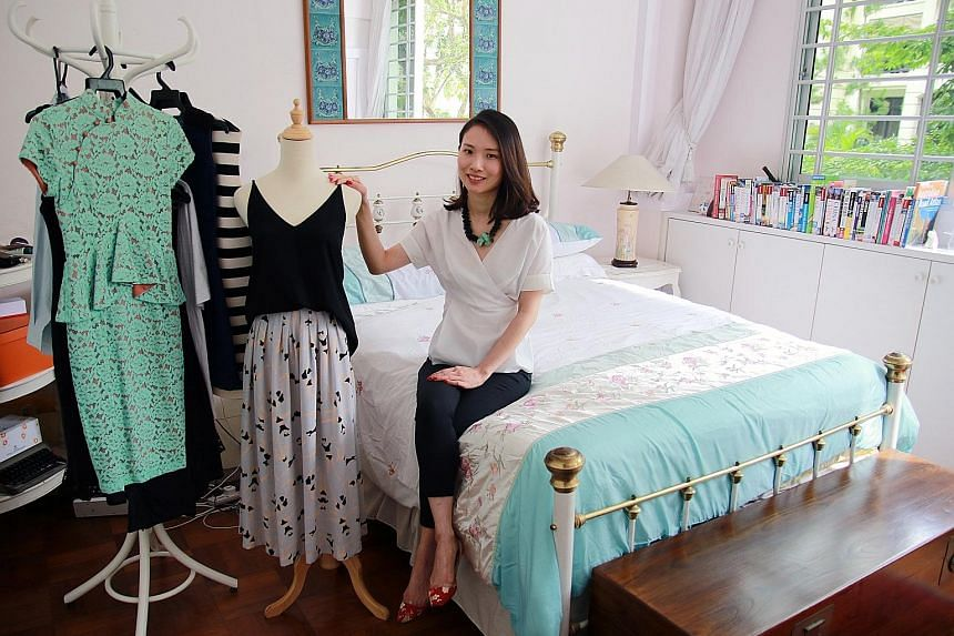 Buy clothing made from quality material so it will last for years, says Ms Rebecca Chia.