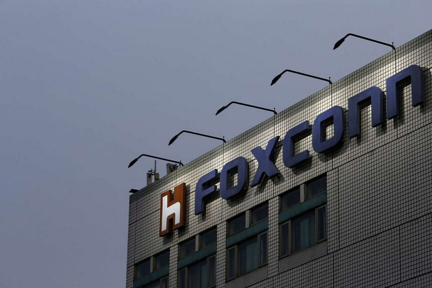 The Foxconn headquarters in New Taipei City, Taiwan on March 29, 2016.