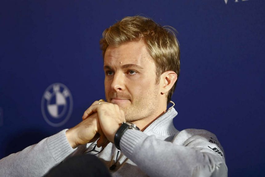 Formula One World Champion Nico Rosberg speaks during a news conference as he announces his retirement in Vienna on Dec 2, 2016.