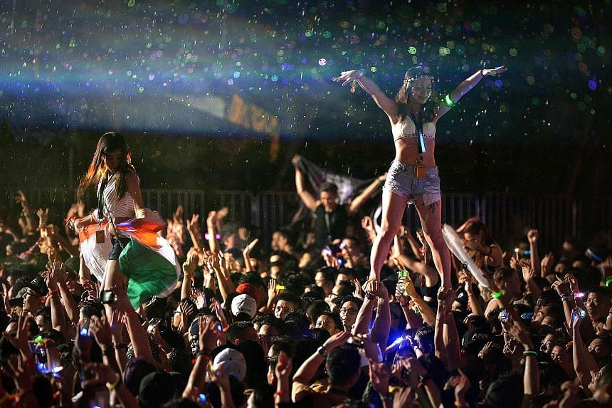 Last year's ZoukOut held at Sentosa's Siloso Beach. Several people have reported being cheated of their money when they tried to buy tickets online for this year's event, which will be held on Dec 9 and 10.