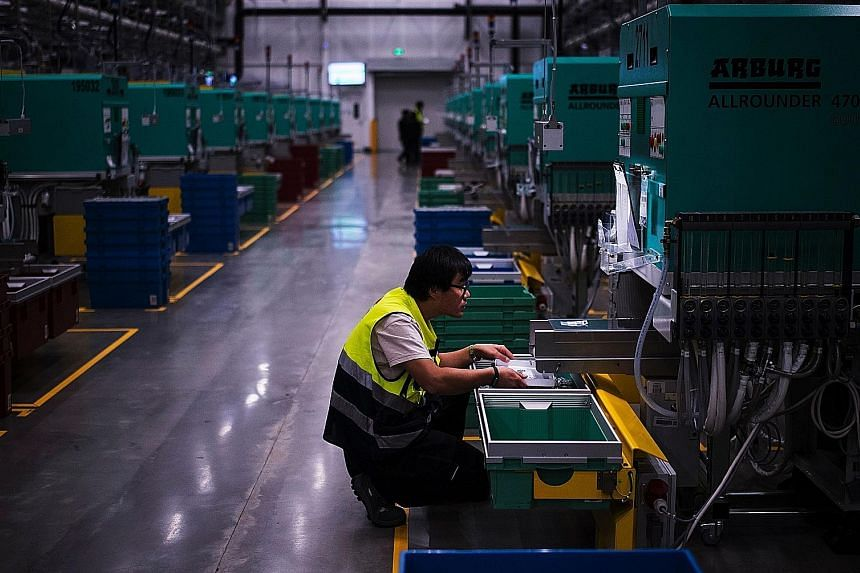 China's factories have perked up in recent months, buoyed by a government infrastructure-building spree and a housing boom that is starting to show signs of fatigue.