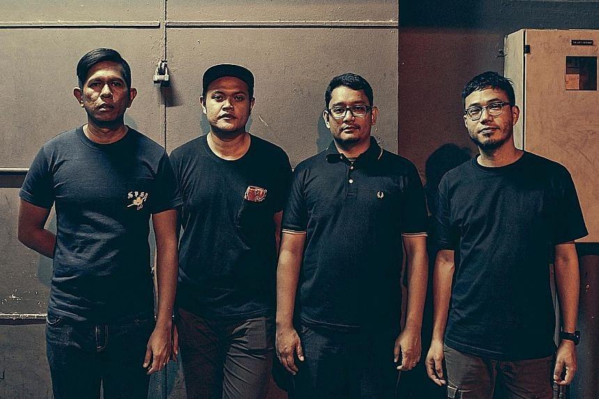 Priorities for Plainsunset's (from far left) Norsham Husaini, Helmi Abdul Rahman, Nizam Sukri and Jonathan Chan have changed.