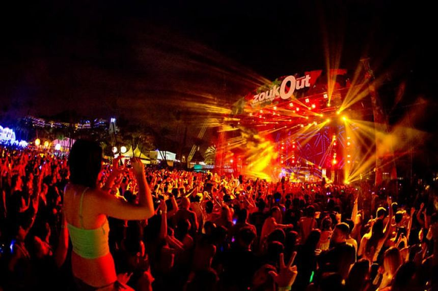 The crowd at previous editions of ZoukOut.