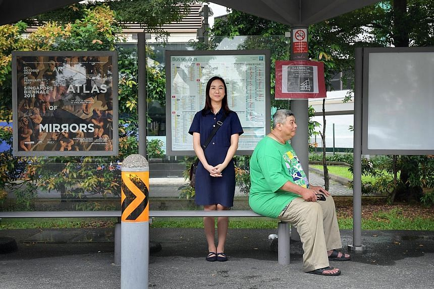 A chance meeting with Mr Shu at a Yishun bus stop in late 2013 led to Ms Tay achieving her diploma, and she is now gunning for a degree.