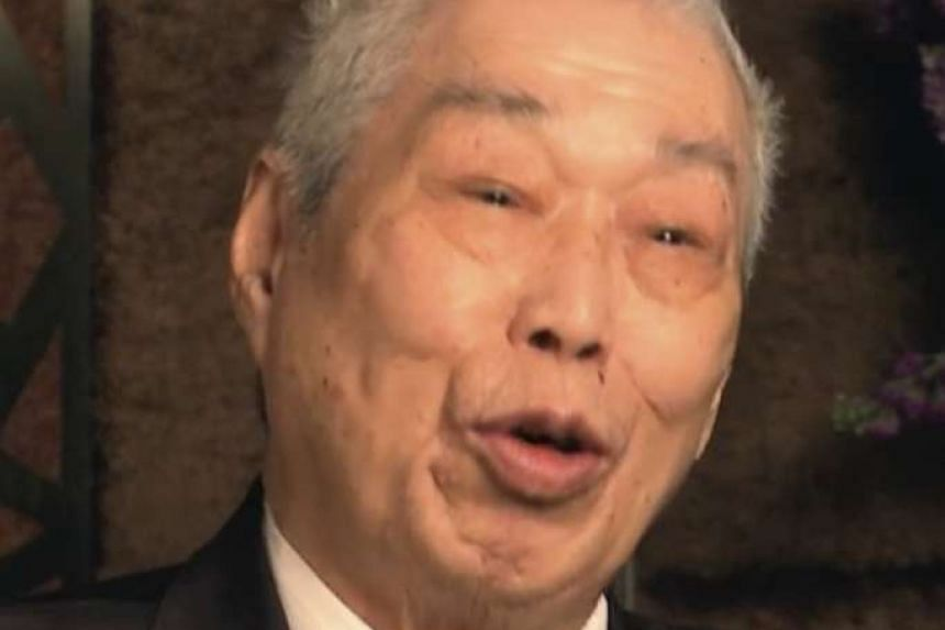 Mr Peng Chang-kuei in the 2014 documentary The Search For General Tso. The Taiwanese chef, who invented General Tso's chicken, died at the age of 97.