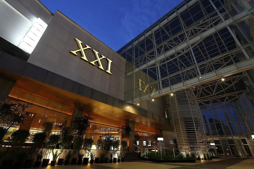GIC is set to partner Nusantara Sejahtera Raya, which operates the Cinema 21, Cinema XXI (above) and The Premiere brands in Indonesia, to help expand the theatre chain across the country.