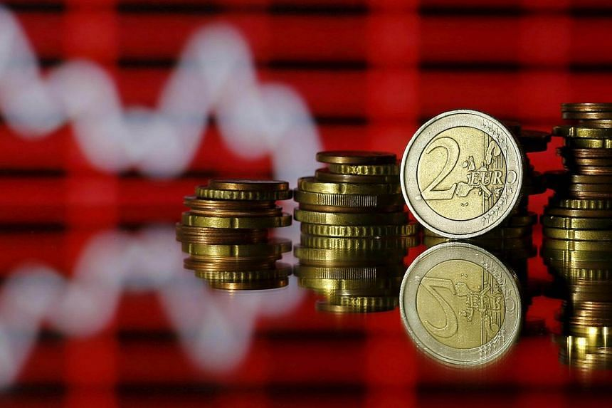 Initial jitters saw the euro dive to as low as 1.0503 to the greenback early yesterday - a fall of 1.6 per cent from Friday.