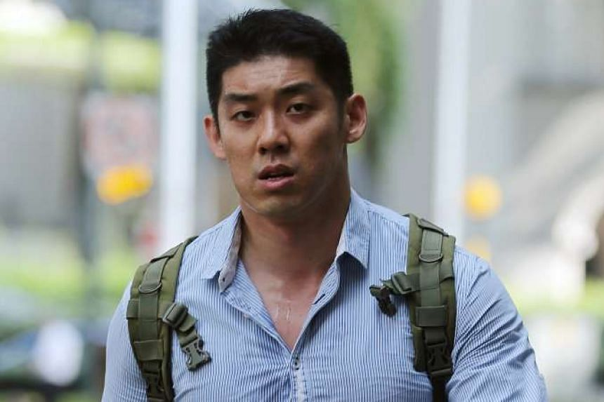 Keith Tan was fined $2,000 for kicking a football against the nine-year-old boy's legs, after the boy accidentally caused his young daughter to fall.