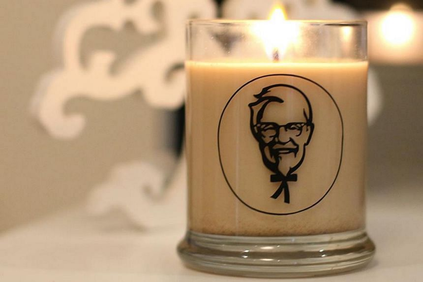 The limited-edition KFC scented candle is only available in New Zealand.