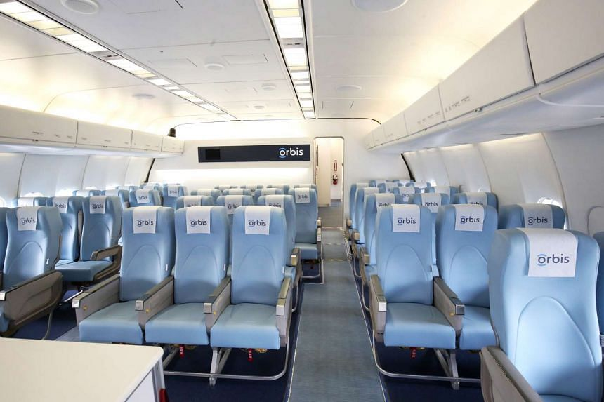 The interior of the Orbis plane.