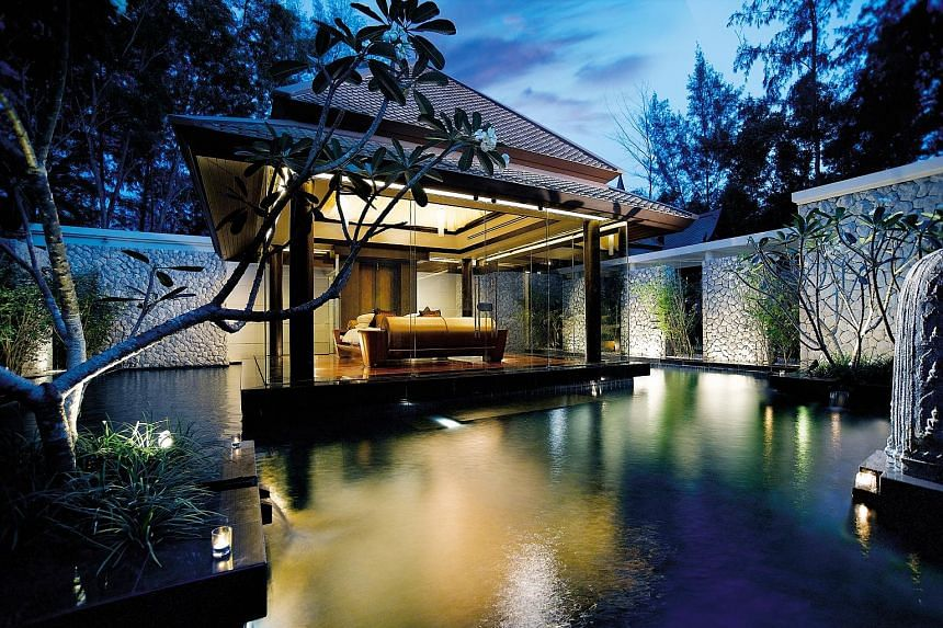 A Banyan Tree villa in Phuket. AccorHotels and Banyan Tree plan to develop and manage the latter's hotels around the world.