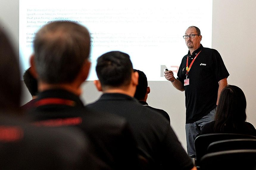 CoachSG is a new academy specifically reaching out to coaches of all levels in Singapore. Headed by Troy Engle, it will focus on three key areas - coaching skills, character and leadership, and coach industry.