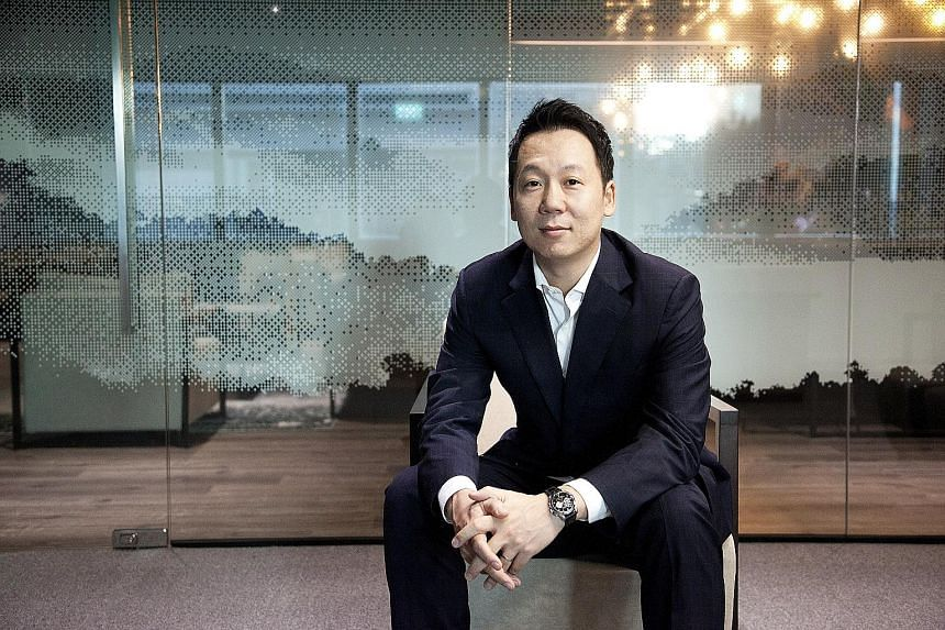 Mr Cho, founder of Marvelstone Group, chose Singapore for his headquarters as he is impressed by the government agencies here. The authorities introduced him to tax advantages and connected his firm to potential partners.