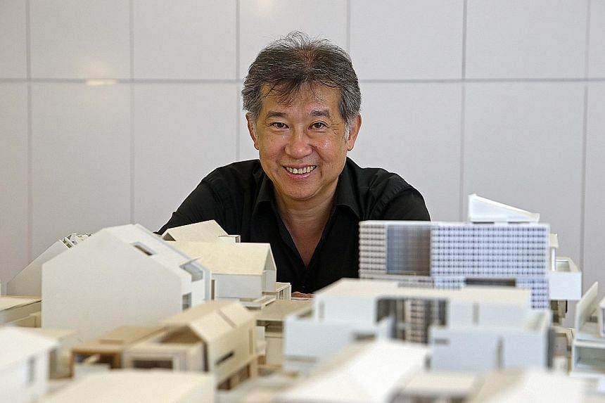 RT+Q Architects' Rene Tan (left); and the House With Bridges (above).