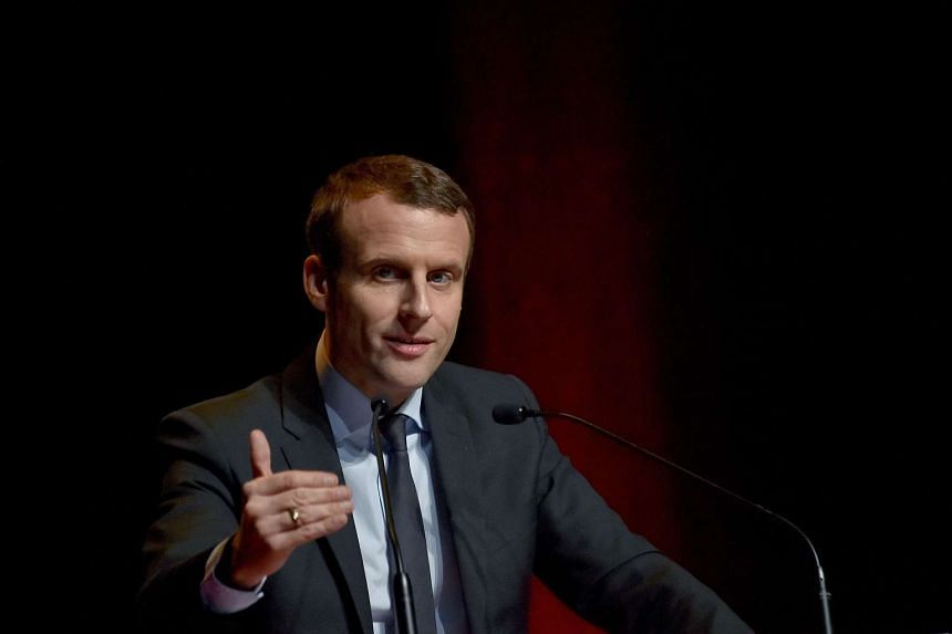 France's former economy minister Emmanuel Macron is running for the presidency as an independent.