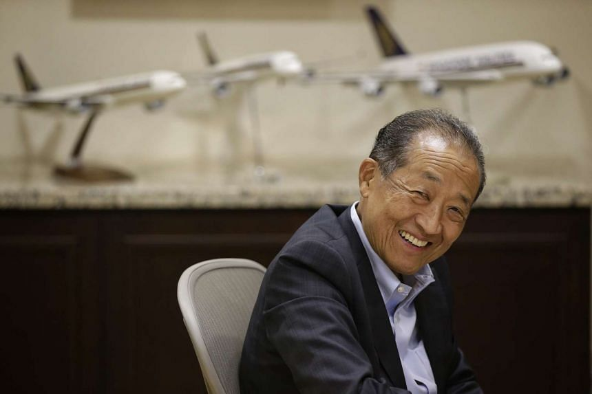 Mr Stephen Lee will step down on Jan 1 after helming Singapore Airlines for a decade.